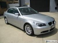 2005 BMW 525I SUNROOF/LEATHER/SATNAV SERVICE BOOKS 192,000 KLMS MECH A1
