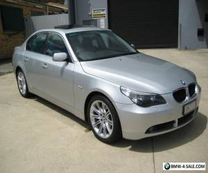 2005 BMW 525I SUNROOF/LEATHER/SATNAV SERVICE BOOKS 192,000 KLMS MECH A1  for Sale