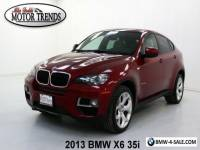 2013 BMW X6 35i NAV 360 VIEW CAM LEATHER