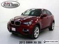 2013 BMW X6 35i NAV 360 VIEW CAM LEATHER