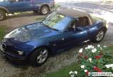 2001 BMW Z3 Roadster Convertible 2-Door for Sale