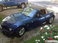 2001 BMW Z3 Roadster Convertible 2-Door