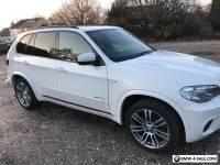 2013 13 REG  BMW X5 30D M SPORT PAN ROOF 1 LADY OWNER 55300 MILES FBMWSH