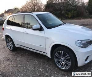 2013 13 REG  BMW X5 30D M SPORT PAN ROOF 1 LADY OWNER 55300 MILES FBMWSH for Sale