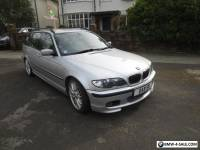 BMW 330d Sport Touring Estate Silver Auto Leather 220 BHP Diesel