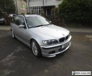 BMW 330d Sport Touring Estate Silver Auto Leather 220 BHP Diesel for Sale
