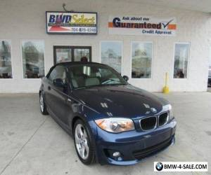 2012 BMW 1-Series Base Convertible 2-Door for Sale