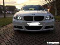 2010 bmw 330d m sport touring white auto fully loaded 300bhp
