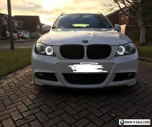 2010 bmw 330d m sport touring white auto fully loaded 300bhp   for Sale