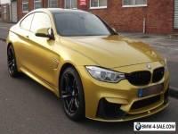BMW M4 3.0 ( 425bhp  M DCT 2015 - 3k miles - Full M Performance