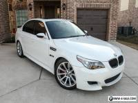 2007 BMW M5 Sedan 4-Door Fully Loaded 6-speed manual wht/red