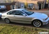 Silver 318CIES Sport BMW - *Excellent condition, low mileage, 12 months MOT* for Sale