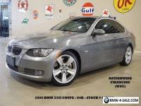 2008 BMW 3-Series Coupe AUTO,SUNROOF,HTD LTH,B/T,18IN WHLS,84K,WE FI