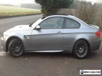 BMW M3 V8 coupe 2012 62 plate