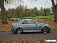 2003 BMW M3 SILVER/GREY FACELIFT MANUAL