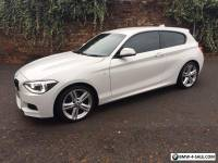 BMW 1 SERIES 1.6 116i M Sport Sports Hatch 3 Door White