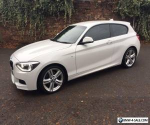 BMW 1 SERIES 1.6 116i M Sport Sports Hatch 3 Door White for Sale