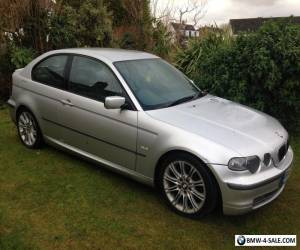 2003 53 BMW 325 ti  Auto, Low miles, M.O.T, Silver, Black Leather, Bargin....... for Sale