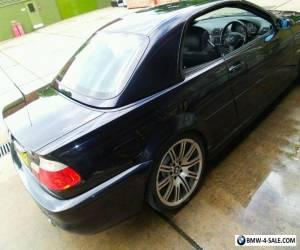 E46 M3 BMW for Sale