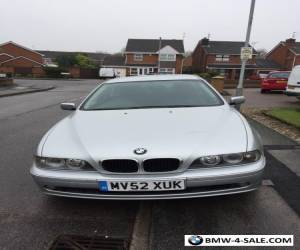BMW  520I SE Automatic 4 Door Saloon Petrol for Sale