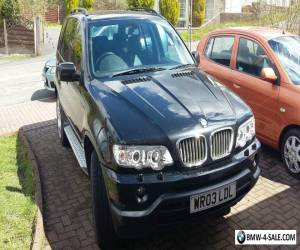 BMW X5 4.4 V8 SPORT SPARES OR REPAIRS for Sale