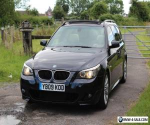 2009 BMW 520d M Sport Touring - PANORAMIC SUNROOF - HUGE SPEC - Estate - NEW MOT for Sale