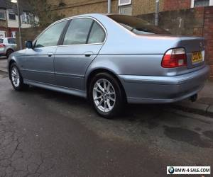 2003 BMW E39 530d Se Bluewater Metalic Manual FSH for Sale