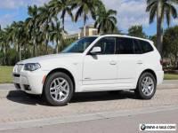 2010 BMW X3 xDrive30i Sport Utility 4-Door