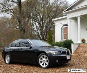 2006 BMW 7-Series 750li ONE OWNER NO ACCIDENTS NO PAINTWORK ALL SERV for Sale
