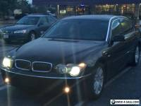 2003 BMW 7-Series Sedan 4 Doors