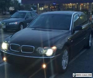 2003 BMW 7-Series Sedan 4 Doors for Sale