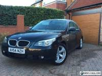 2004 (54) BMW  530D SE 3.0 AUTO DIESEL BLACK WITH BLACK NAPPA LEATHER 1 OWNER