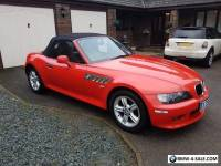 2001 51 BMW Z3 2.2 SPORT ROADSTER 2D 168 BHP Red Black Leather Convertable RARE