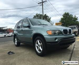 bmw x5 suv 6 cylinder auto petrol goldcoast 0428933306 no reserve  for Sale