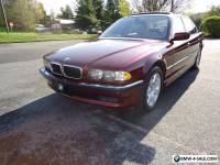2001 BMW 7-Series 740il