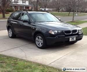 2004 BMW X3 3.0i Sport Utility 4-Door for Sale