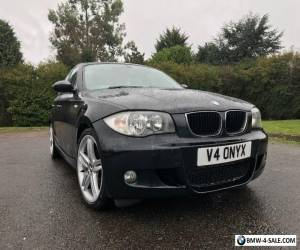 BMW 2008 1 Series Auto 118D M sport With SAT NAV & sensors Upgraded Alloys for Sale