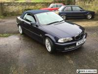 2001 51 BMW 330ci Convertible Only 88k Manual