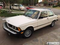 1982 BMW 3-Series Sport Package