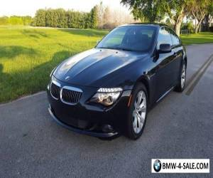 2010 BMW 6-Series for Sale