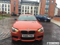 Bmw 1 Series 120D M Sport cheap must look Cat D Damaged Repaired px swap