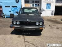 1987 BMW 5-Series SPORT