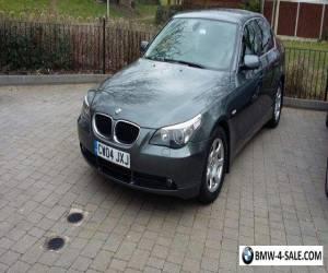 BMW 520I SE  for Sale