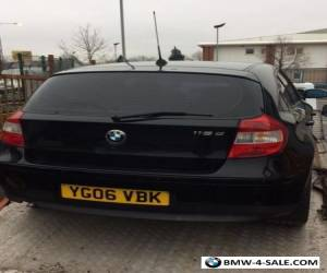 BMW 1 SERIES DIESEL 118D 2LITRE -selling complete with V5 or breaking for parts for Sale