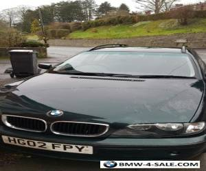 BMW 320D touring 2002 Oxford Green for Sale