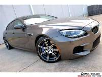 2014 BMW M6 Gran Coupe MSRP $141k Competition Executive B&O NR