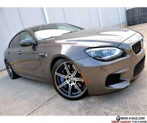 2014 BMW M6 Gran Coupe MSRP $141k Competition Executive B&O NR for Sale