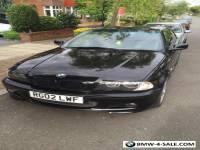 Bmw e46 3 series 325 msport coupe auto leather 107k black mot no rust