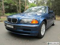 BMW 318i SEDAN NOV 2000 E46 EXECUTIVE PACK