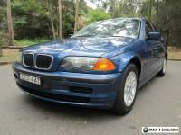 BMW 318i SEDAN NOV 2000 E46 EXECUTIVE PACK